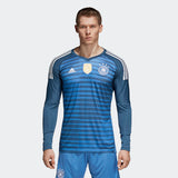 ADIDAS GERMANY HOME GOALKEEPER JERSEY FIFA WORLD CUP 2018 0