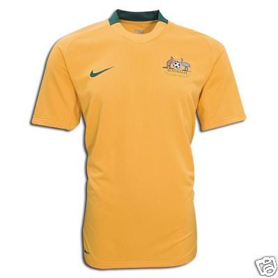 NIKE AUSTRALIA HOME JERSEY FOOTBALL 2008/10 X-LARGE.
