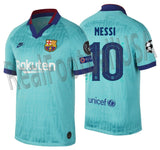 NIKE LIONEL MESSI FC BARCELONA UEFA CHAMPIONS LEAGUE THIRD JERSEY 2019/20 1