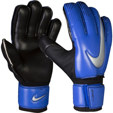 NIKE GK SPYNE PRO GOALKEEPER GLOVES Racer Blue/Black/Chrome 0