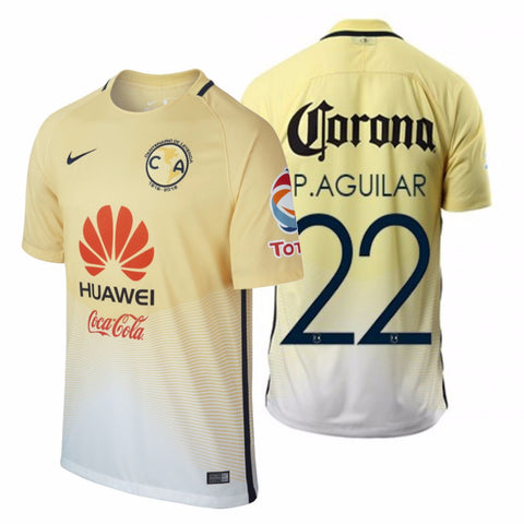 NIKE PAUL AGUILAR CLUB AMERICA HOME JERSEY 2016/17 0
