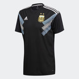 ADIDAS LIONEL MESSI ARGENTINA AWAY JERSEY WORLD CUP 2018 FIFA PATCHES.