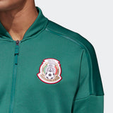 ADIDAS MEXICO Z.N.E. ZNE KNIT JACKET FIFA WORLD CUP 2018 Green/White