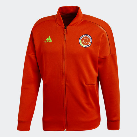 ADIDAS COLOMBIA Z.N.E. ZNE KNIT JACKET FIFA WORLD CUP 2018 Scarlet.