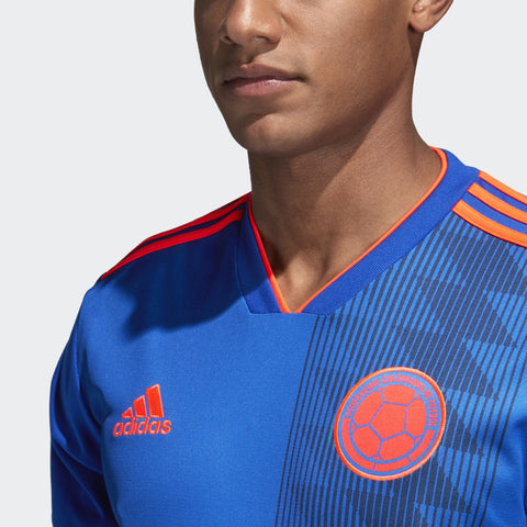 c3ab9fdbcca ADIDAS JAMES RODRIGUEZ COLOMBIA AWAY JERSEY FIFA WORLD CUP 2018 ...