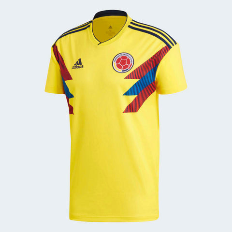 ADIDAS JAMES RODRIGUEZ COLOMBIA HOME JERSEY FIFA WORLD CUP 2018 ... 82400f6ec
