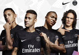 NIKE NEYMAR JR. PARIS SAINT-GERMAIN PSG UEFA CHAMPIONS LEAGUE THIRD JERSEY 2017/18 6