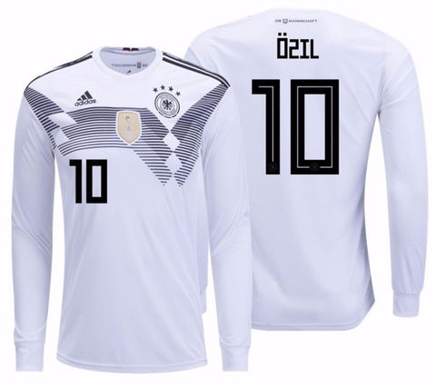 new styles 5676f 5f6a0 ADIDAS MESUT OZIL GERMANY LONG SLEEVE HOME JERSEY FIFA WORLD CUP 2018.