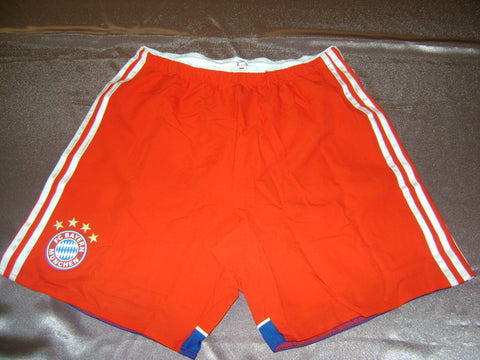 ADIDAS BAYERN MUNICH AUTHENTIC PLAYERS ISSUE HOME SHORTS 2014/15.