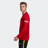 ADIDAS DAVID BECKHAM MANCHESTER UNITED LONG SLEEVE CUP HOME JERSEY 2019/20 7
