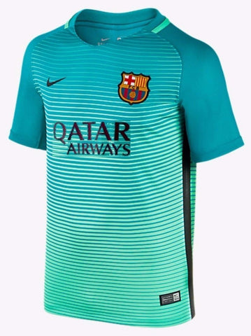 NIKE FC BARCELONA THIRD YOUTH JERSEY 2016/17 QATAR.