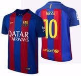 NIKE LIONEL MESSI FC BARCELONA HOME YOUTH JERSEY 2016/17 QATAR 1