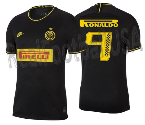 NIKE RONALDO INTER MILAN PIRELLI RACING LIMITED EDITION THIRD JERSEY 2019/20
