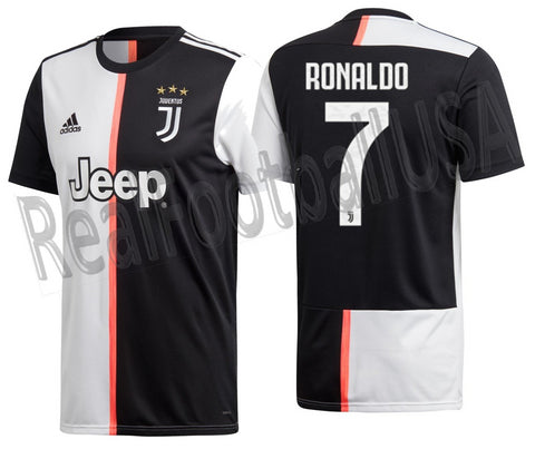 buy online 81c98 f073f ADIDAS CRISTIANO RONALDO JUVENTUS HOME JERSEY 2019/20.