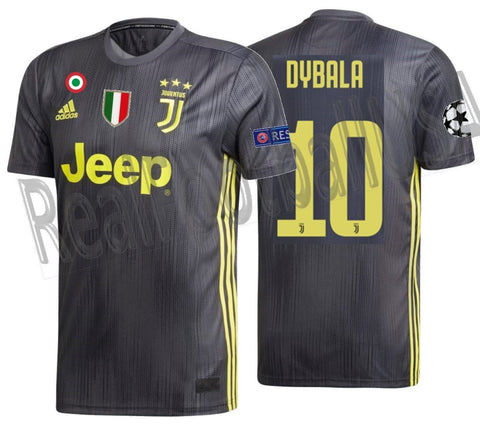 wholesale dealer 6f3aa fe8d7 ADIDAS PAULO DYBALA JUVENTUS UEFA CHAMPIONS LEAGUE THIRD JERSEY 2018/19.