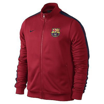 NIKE FC BARCELONA AUTHENTIC N98 TRACK JACKET Red/Blue.