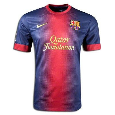 NIKE FC BARCELONA YOUTH HOME JERSEY 2012/13 FOOTBALL BOYS.