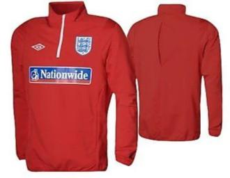 UMBRO ENGLAND DRILL TOP 1/4 ZIP SOCCER FOOTBALL X-LARGE