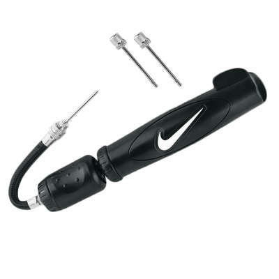 NIKE SOCCER BALL DUAL ACTION PUMP BLACK.