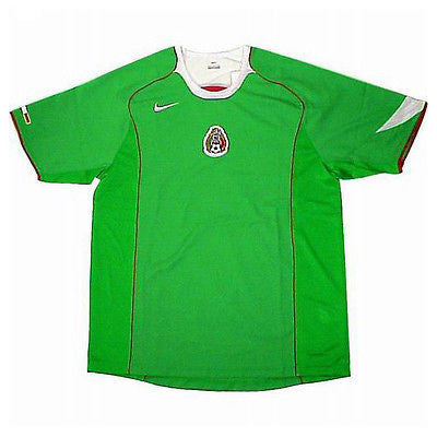 NIKE MEXICO HOME JERSEY 2004/06 FIFA CONFEDERATIONS CUP GERMANY 2005