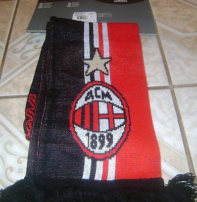 ADIDAS AC MILAN SUPPORTERS SCARF Red/White.