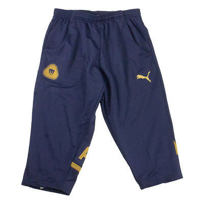 PUMA PUMAS UNAM 3/4 TRAINING PANTS Navy/Gold.