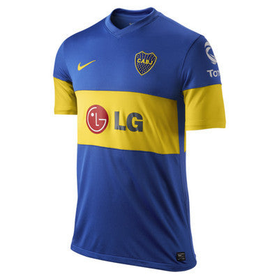 quality design 6b6bc b2f15 NIKE BOCA JUNIORS HOME JERSEY 2011/12.