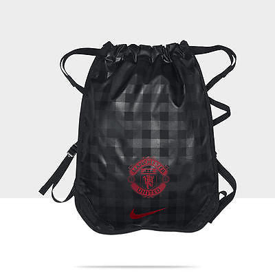 NIKE MANCHESTER UNITED ALLEGIANCE GYM SACK BLACK/RED