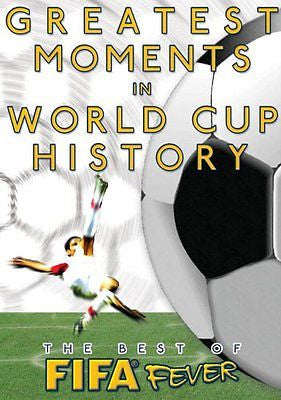 THE BEST OF FIFA FEVER GREATEST MOMENTS IN FIFA WORLD CUP HISTORY (DVD, 2006)