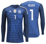 ADIDAS MANUEL NEUER GERMANY HOME GOALKEEPER JERSEY FIFA WORLD CUP 2018 0