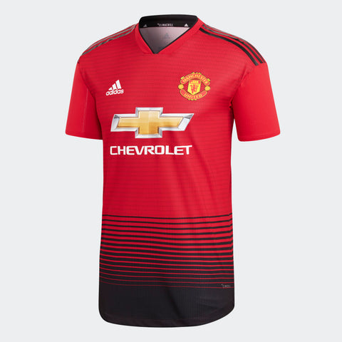 ADIDAS MANCHESTER UNITED AUTHENTIC MATCH HOME JERSEY 2018/19.