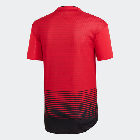 finest selection bc72d 9a456 ADIDAS MANCHESTER UNITED AUTHENTIC MATCH HOME JERSEY 2018/19.