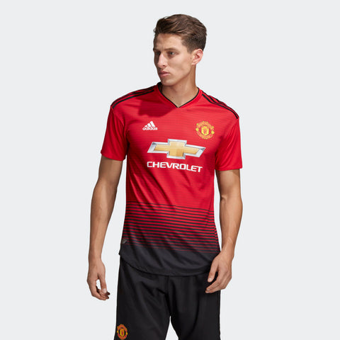 finest selection 4de7e f0f15 ADIDAS MANCHESTER UNITED AUTHENTIC MATCH HOME JERSEY 2018/19.