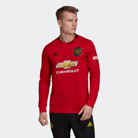 ADIDAS MANCHESTER UNITED LONG SLEEVE HOME JERSEY 2019/20 ...