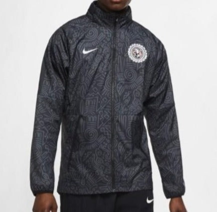 NIKE CLUB AMERICA ALL WEATHER  JACKET 2021 6