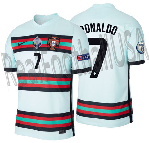 NIKE CRISTIANO RONALDO PORTUGAL NATIONS LEAGUE AWAY JERSEY 2020 2021 1