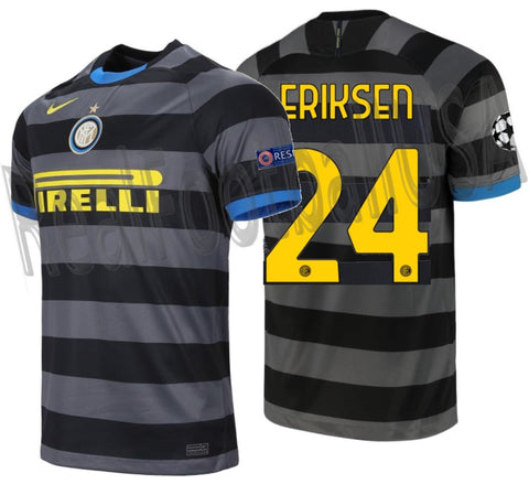 NIKE CHRISTIAN ERIKSEN INTER MILAN UEFA CHAMPIONS LEAGUE THIRD JERSEY 2020/21 1