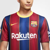 NIKE ANDRES INIESTA FC BARCELONA HOME JERSEY 2020/21 4