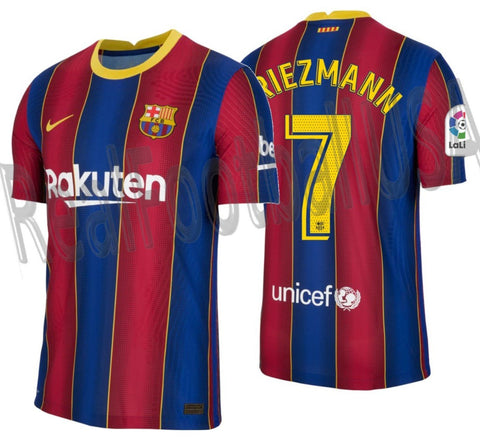 NIKE ANTOINE GRIEZMANN FC BARCELONA AUTHENTIC VAPOR MATCH HOME JERSEY 2020/21 1
