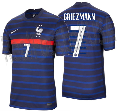 NIKE ANTOINE GRIEZMANN FRANCE HOME JERSEY 2020 2021 1