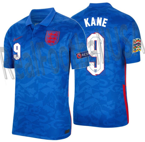 NIKE HARRY KANE ENGLAND NATIONS LEAGUE AWAY JERSEY 2020 2021 1
