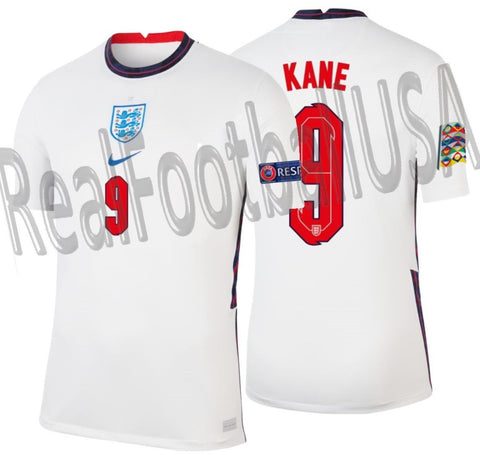 NIKE HARRY KANE ENGLAND NATIONS LEAGUE HOME JERSEY 2020 2021 1