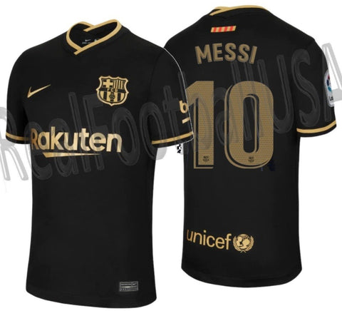 Nike Lionel Messi FC Barcelona Away Jersey 2020/21 1