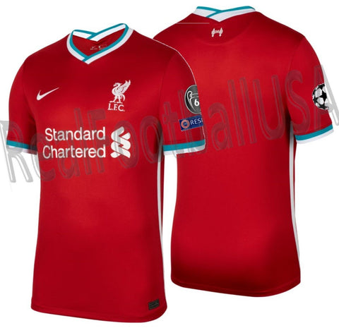NIKE LIVERPOOL FC UEFA CHAMPIONS LEAGUE HOME JERSEY 2020/21 1