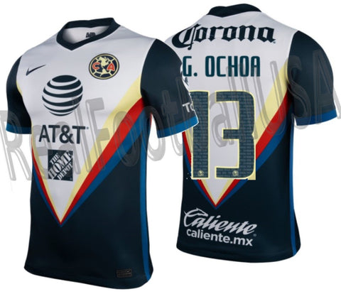 NIKE GUILLERMO OCHOA CLUB AMERICA AWAY JERSEY 2020/21 1