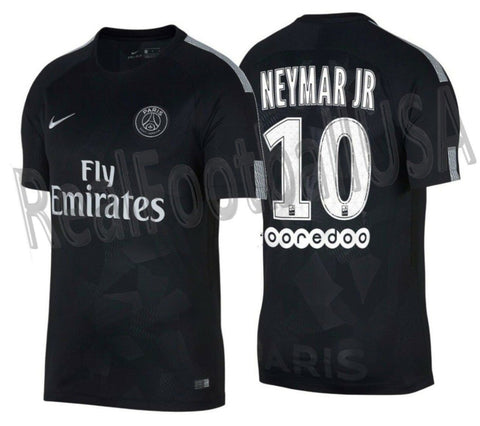 NIKE NEYMAR JR PARIS SAINT-GERMAIN PSG VAPOR MATCH THIRD JERSEY 2017/18 1