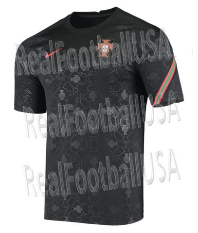 NIKE PORTUGAL BREATHE PRE MATCH JERSEY 2020 2021 1