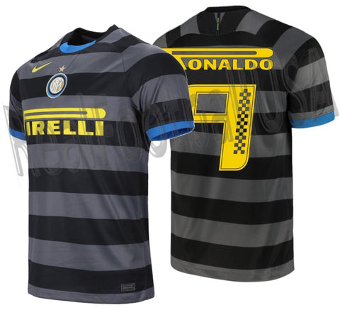 NIKE RONALDO INTER MILAN PIRELLI RACING LIMITED EDITION THIRD JERSEY 2020/21 1