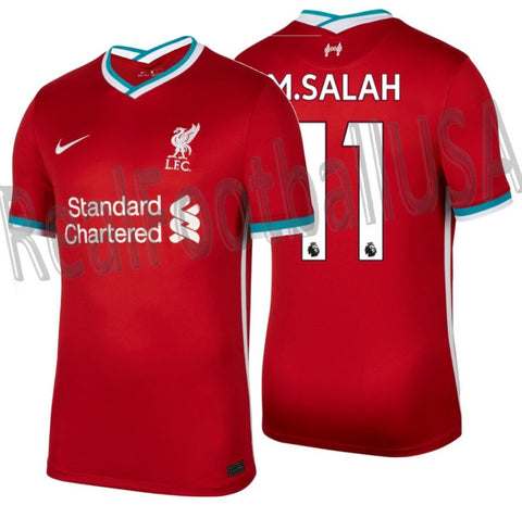 NIKE MOHAMED SALAH LIVERPOOL FC HOME JERSEY 2020/21 1