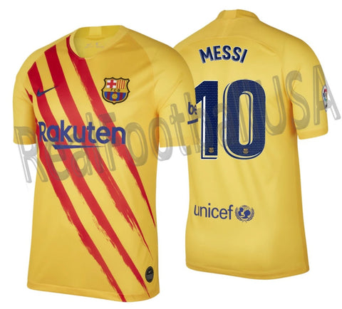 NIKE LIONEL MESSI FC BARCELONA FOURTH JERSEY 2019/20 1